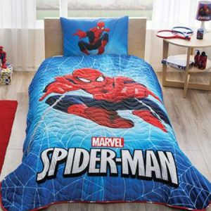 Set cuvertura cu fata de perna Disney Spiderman CVC01