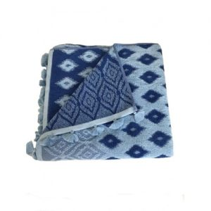 Set 5 Prosoape bumbac albastre PP1218 70x140 cm