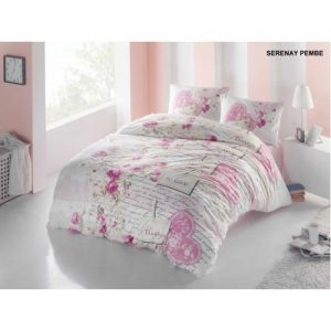 Lenjerie bumbac 3 piese Serenay Pink PP1204