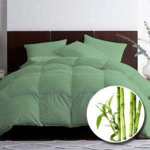 Pilota premium bambus matlasata verde