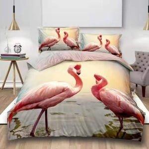 Lenjerie Digital PrintDP62 Flamingo
