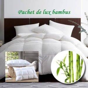 Pachet de lux bambus alb PLB1